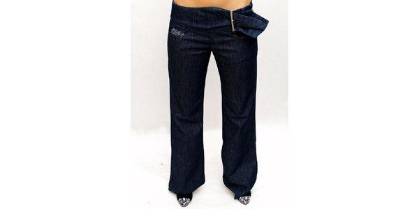 Dámské tmavě modré džíny s boční přezkou Killah