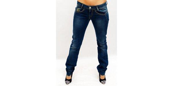 Dámské tmavě modré džínové kalhoty Killah