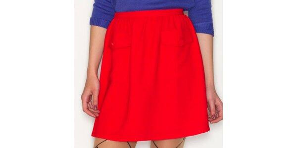 Dámská červená sukně Pepa Loves