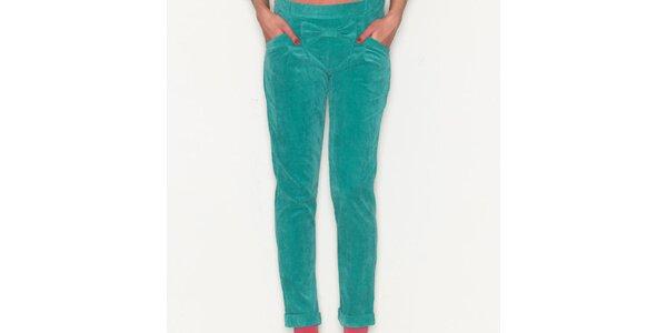 Dámské zelené kalhoty Pepa Loves