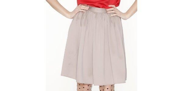 Dámská béžová sukně Pepa Loves