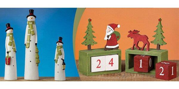 Luxusní vánoční dekorace pro Váš domov a dům