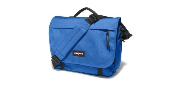 Zářivě modrá taška přes rameno Eastpak