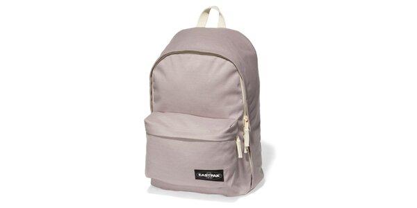 Světle šedý školní batoh Eastpak
