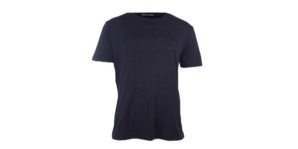 Pánské tmavě modré tričko GAS