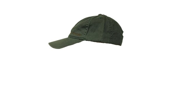 Pánská tmavě zelená kšiltovka GAS