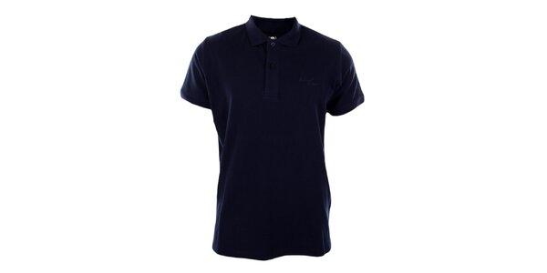 Pánské tmavě modré polo tričko Timeout