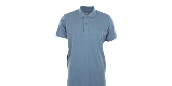 Pánské světle modré polo tričko Timeout
