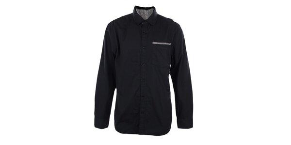 Pánská černá košile Timeout
