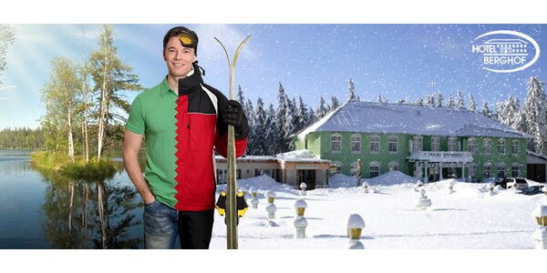 Horský pobyt v hotelu Berghof*** u Božího Daru