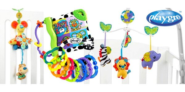 Interaktivní hračky Playgro pro miminka
