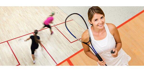 1-2 hodiny squashe, skvělá zábava pro dva