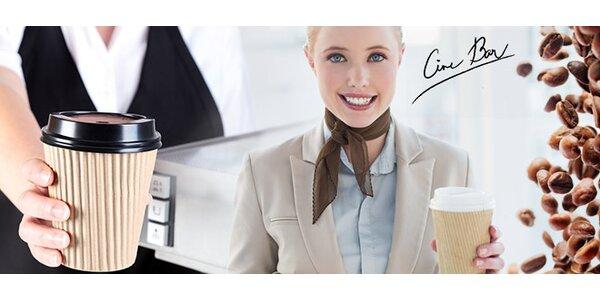 Dvě kávy dle výběru s sebou
