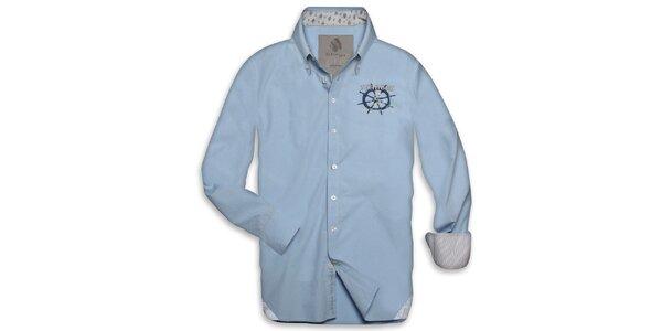 Pánská světle modrá námořnická košile Paul Stragas
