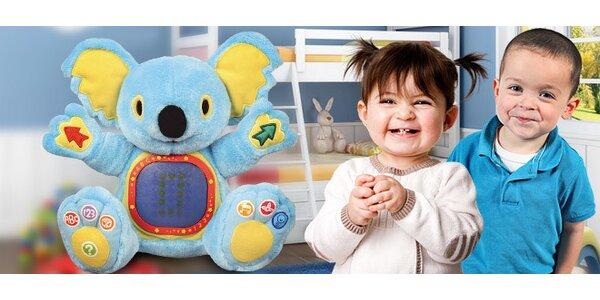 Výuková hračka - plyšový medvídek koala