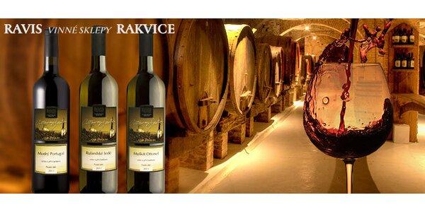 Tři přívlastková vína z Ravis vinné sklepy Rakvice. Skvělý ročník 2011