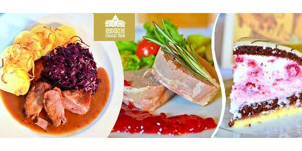 Degustační menu pro dva v Kavárně Obecní dům