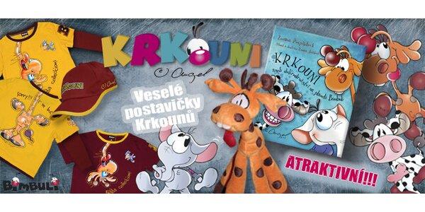 Limitovaný vánoční set pro děti s kamarády Krkouny