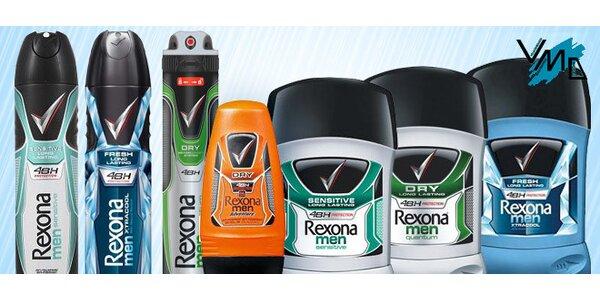 Rexona antiperspiranty a deodoranty pro muže