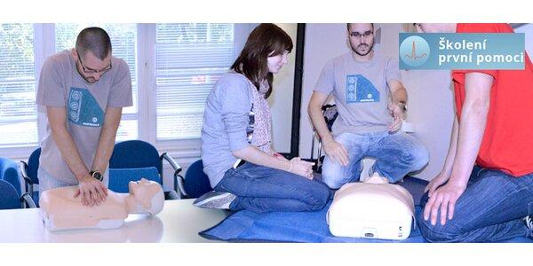 Rozšířený kurz první pomoci (3,5 hod.)