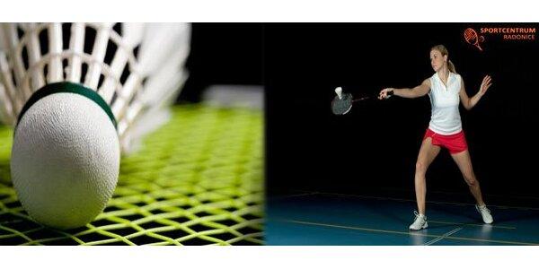99 Kč za pronájem badmintonového kurtu na 1 hodinu. Sleva až 55 %.