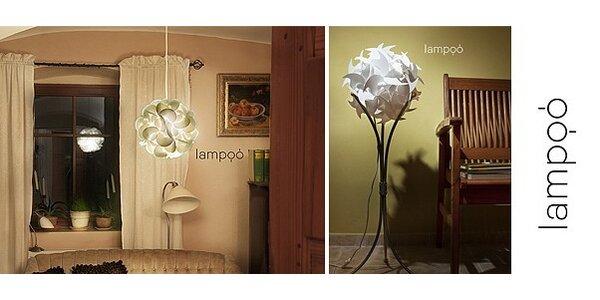 Designové osvětlení LAMPOO plumero/kardo