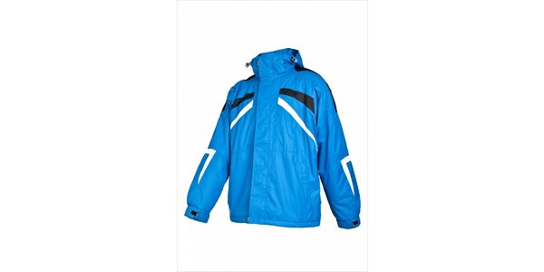 Pánská světle modrá lyžařská bunda Envy