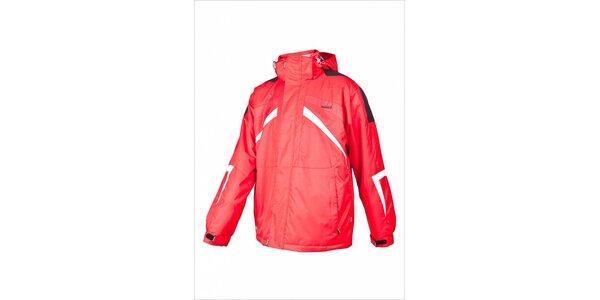 Pánská červená lyžařská bunda Envy