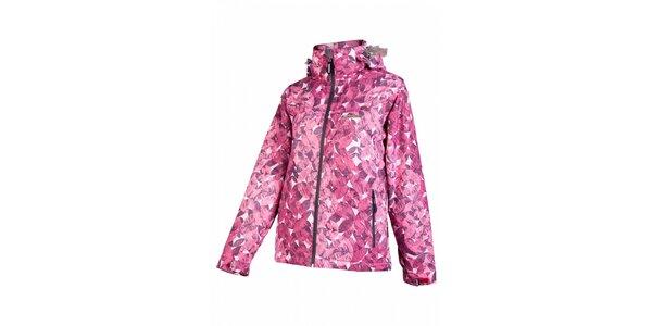 Dámská růžová snowboardová bunda Envy s potiskem