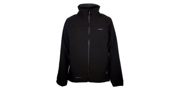 Dámská černá zimní softshellová bunda 3v1