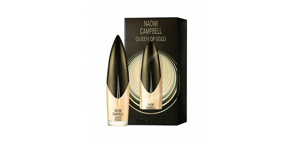 Naomi Campbell Queen of Gold toaletní voda 15ml