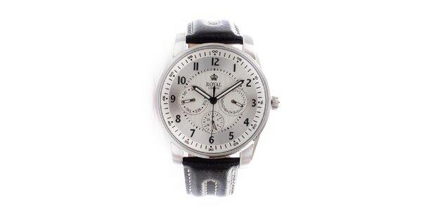 Dámské ocelové hodinky Royal London se stříbrno-bílým ciferníkem