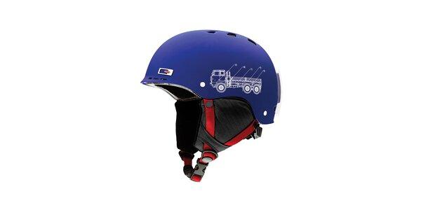 Modrá dětská helma Smith