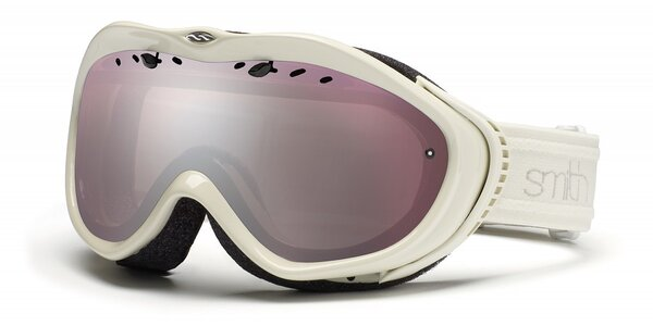 Dívčí bílé lyžařské brýle Smith Optics