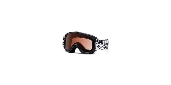 Dětské černé lyžařské brýle Smith Optics