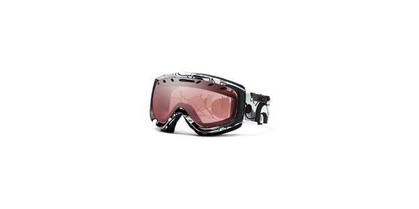 Černo-bílé lyžařské brýle Smith Optics