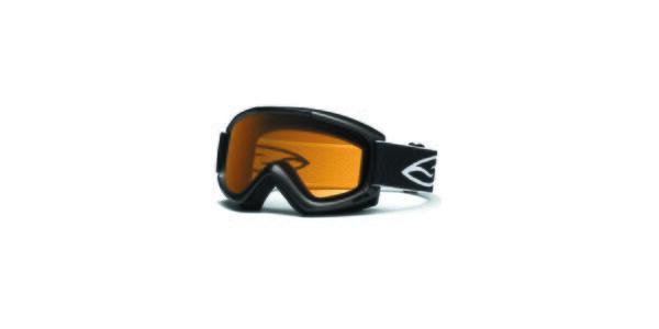 Černé lyžařské brýle Smith Optics