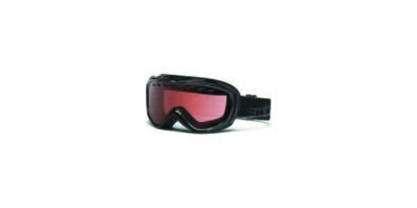 Menší černé lyžařské brýle Smith Optics