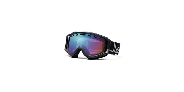Černé lyžařské brýle Smith Optics se sférickými skly