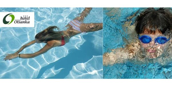 49 Kč za vstup do bazénu v Hotelu Olšanka. SLEVA 51 %!