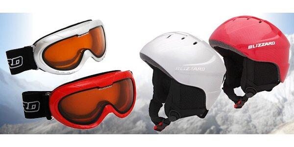 Lyžařské helmy s brýlemi pro děti