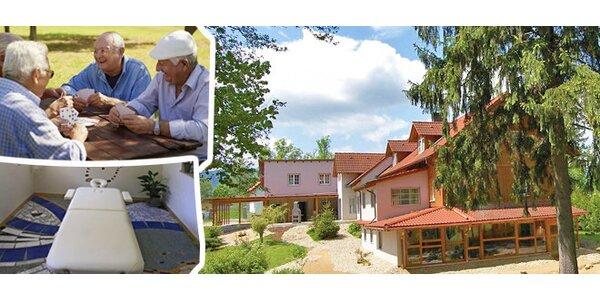 Ozdravný pobyt pro seniory 55+ na Šumavě - domov Lebeda