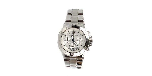 Dámské ocelové hodinky Michael Kors ve stříbrné barvě