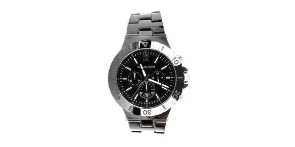 Pánské černé hodinky Michael Kors