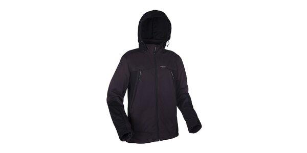 Pánská šedo-černá softshellová bunda Envy