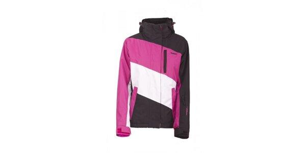 Dámská černo-růžová technická bunda Envy