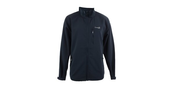 Pánská tmavě modrá softshellová bunda Loap