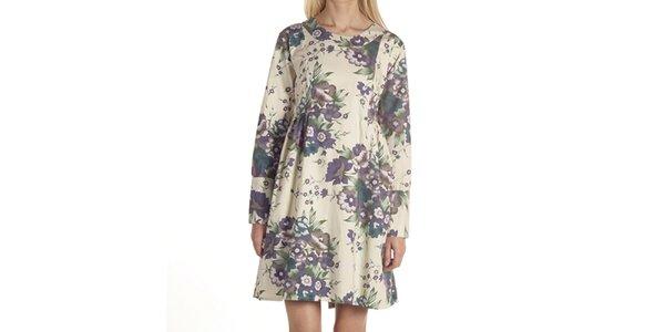 Dámské šaty s květinovým motivem Laga