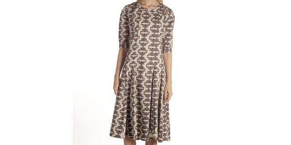 Dámské šaty s květinovým vzorkem Laga