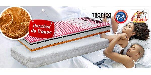 Matrace Tropico Kokos s bambusovým potahem 1+1 zdarma